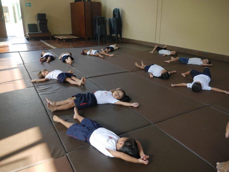 Kínder: En clase de judo